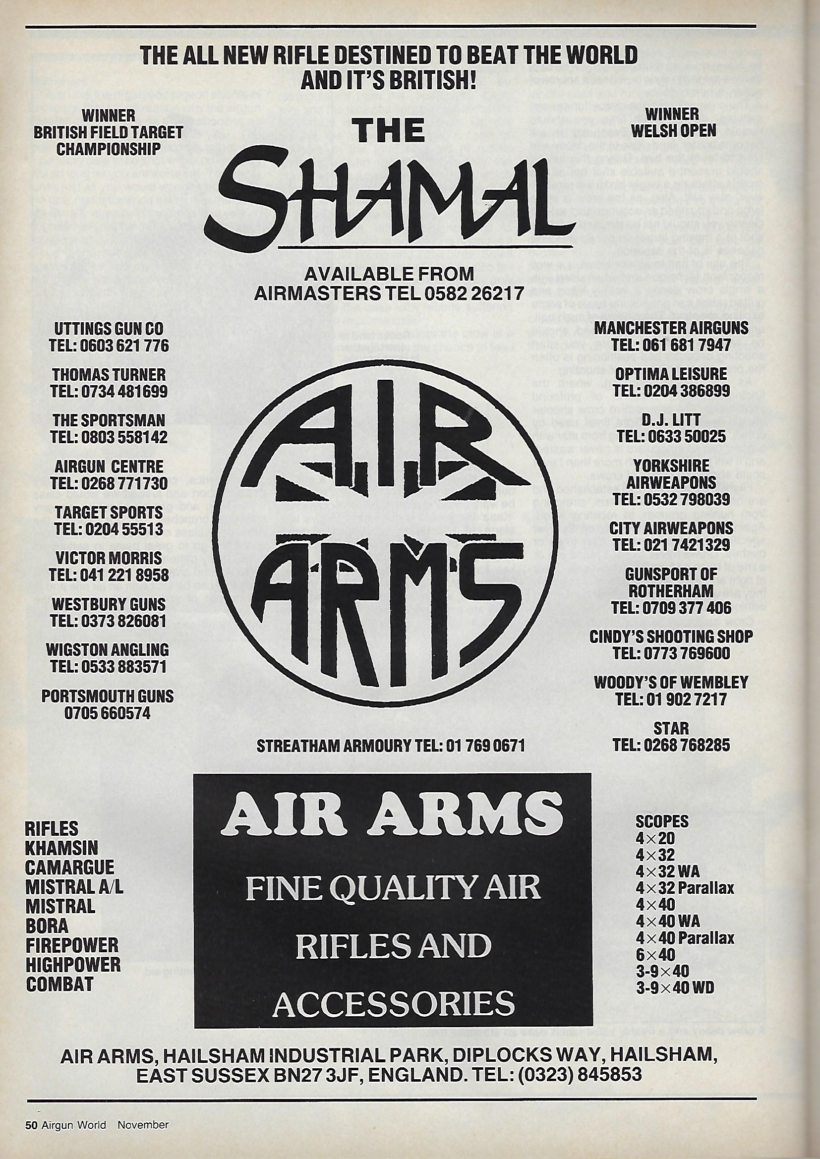 AGW - NOVEMBER 1987 - AIR ARMS SHAMAL AD.jpg