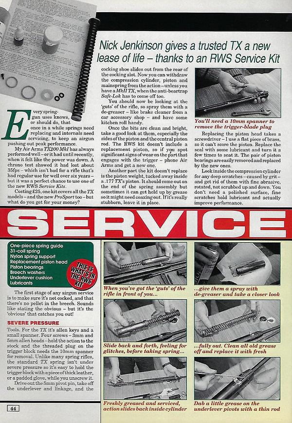 AGW - APRIL 1998 - TX SERVICING ARTICLE