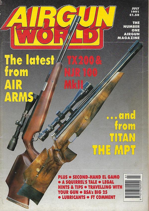 AGW - JULY 1991 -NJR MK2 AND TX FRONT CO