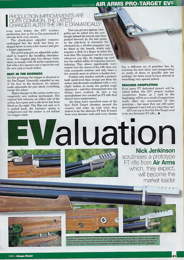 AGW - MARCH 2002 - EV2 PROTOTYPE TEST -