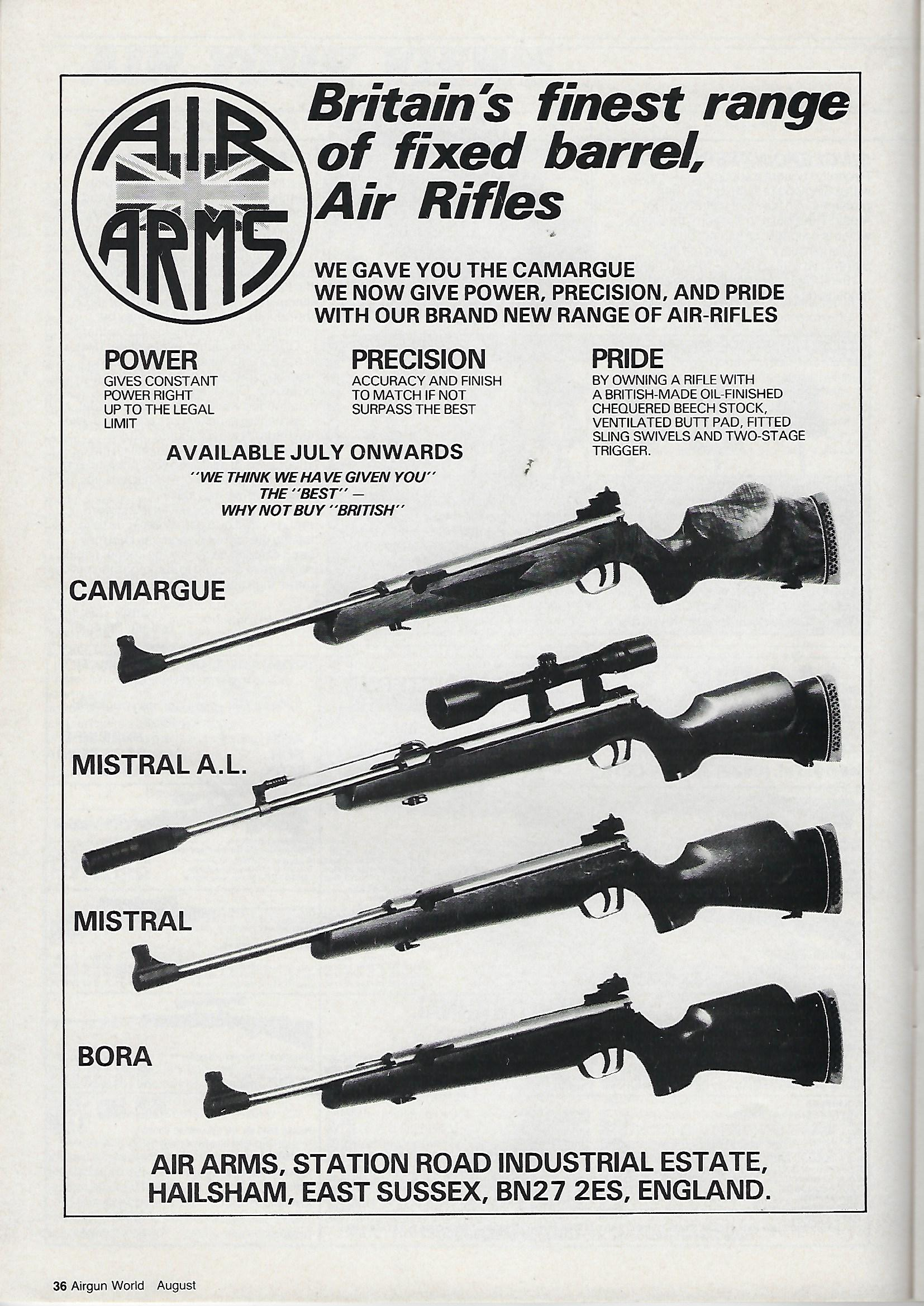 AGW - AUGUST 1985 - AIR ARMS AD.jpg