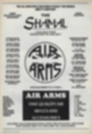 AGW - NOVEMBER 1987 - AIR ARMS SHAMAL AD