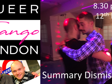 Freshen up on queer tango – or just come and dance!