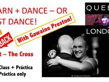 Cross with Gawaine Preston? Never!