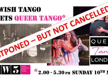 """Jewish Tango meets Queer Tango"" - Covid 19 update!"