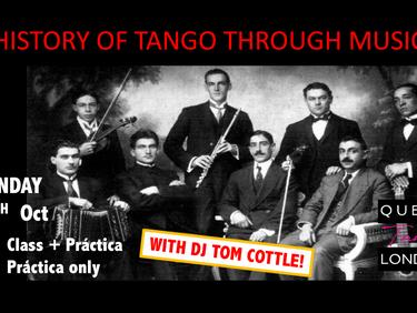 Dance through tango history?
