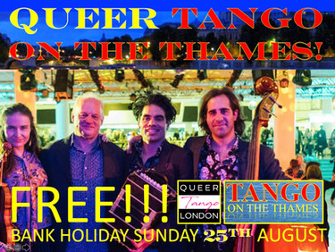 FREE Queer Tango on the Thames!