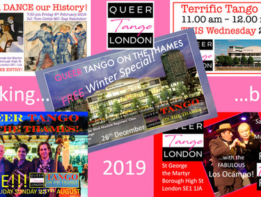 What happened to Queer Tango London in 2019?