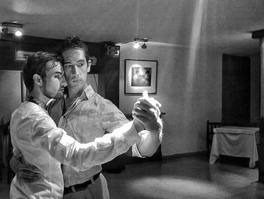 Still feeling chilly? You need a warm, queer tango embrace - Tomorrow + Monday, with Vincent, Maxi &