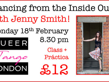 """Dancing from the Inside Out"" with Jenny Smith 18th February!"