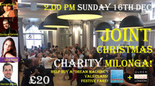 Joint Tango on the Thames – Queer Tango London Christmas Charity Milonga!
