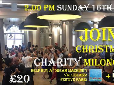 Joint Tango on the Thames – Queer Tango London Christmas Charity Milonga!