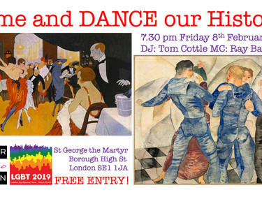 Dance Queer Tango for LGBT History Month!