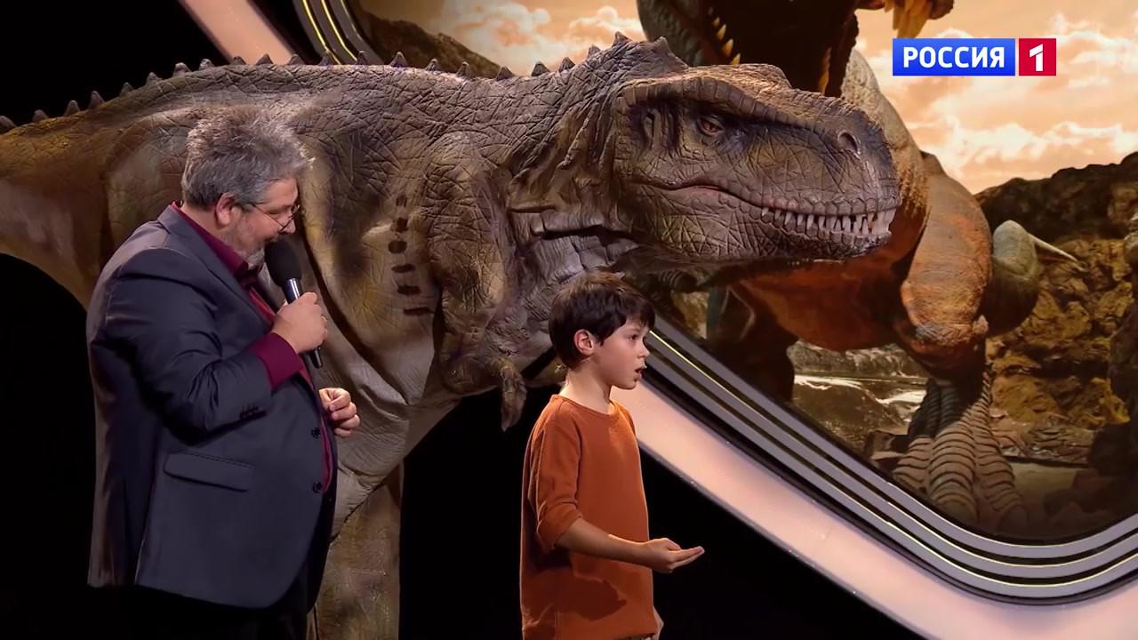 "Dino Family на шоу ""Удивительные люди"""