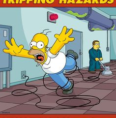 SLIPS TRIPS AND FALLS - WORKPLACE HAZARDS AND HOW TO AVOID THEM