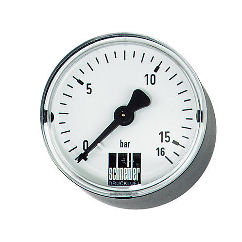 SCHNEIDER Standard-Manometer (waagerecht)