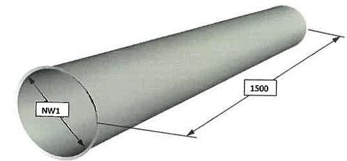 Scheuch-Ligno Rohrteile (verzinkt)