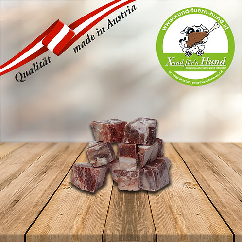 Rinderbrustbein-Würfel