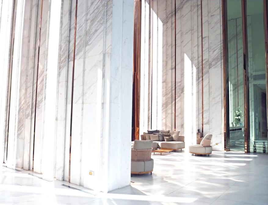 Marble Lobby Entrance