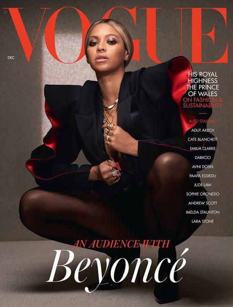 British Vogue December 2020 cover