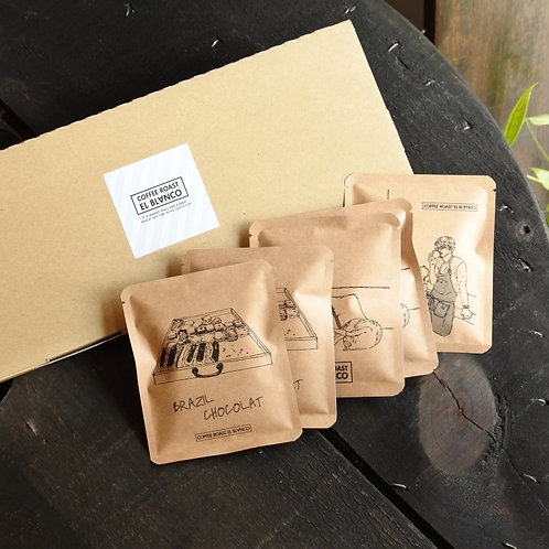 人気のコーヒー3種!DRIP BAG 5個set
