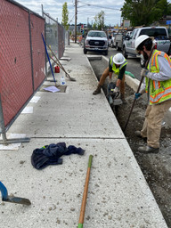 Military Road South Project, South 150th Street to South 152nd Street - Streetscape Development