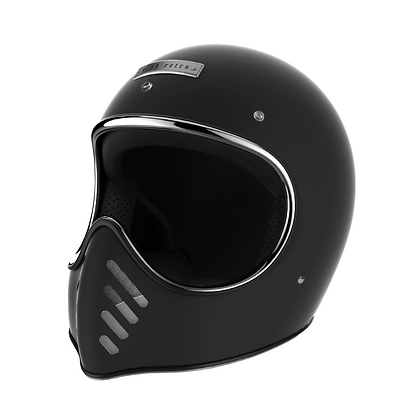CRNK RETRO FULL FACE HELMET