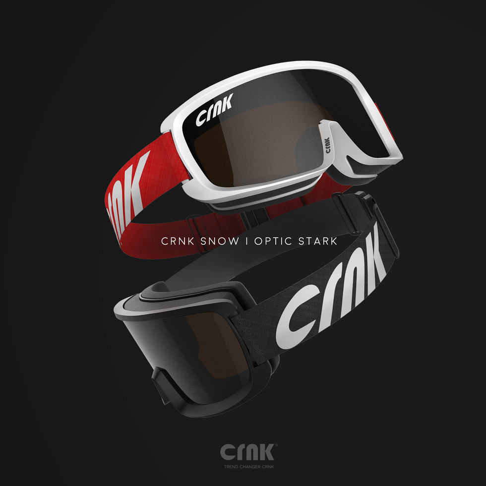 2021 new season snow goggle model 'OPTIC STRAK' released.