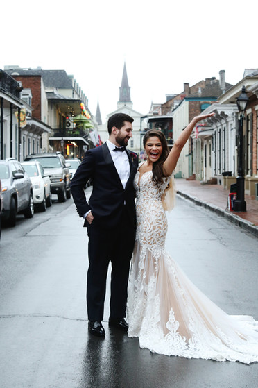 New Year's Eve New Orleans Destination Wedding
