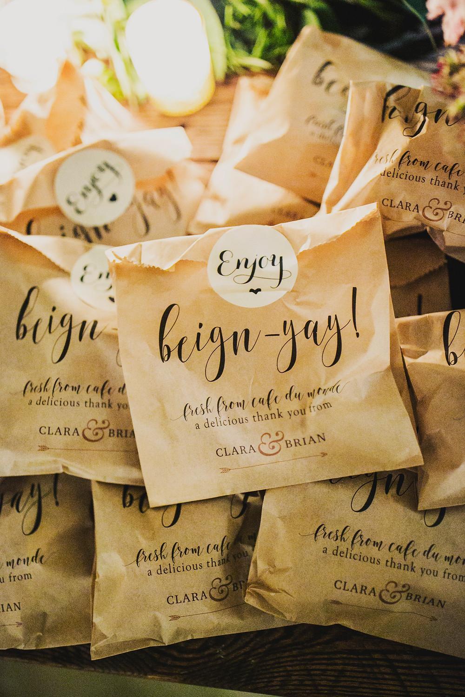 Beignet goody bags