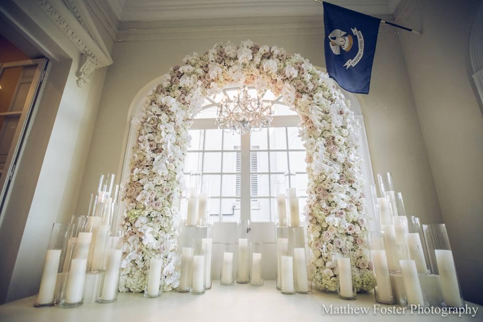 bella blooms flower arch