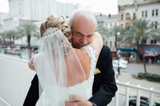 wedding photography, father of the bride, bride, wedding veil, wedding dress, emily sullivan events, wedding planner, destination wedding, new orleans louisiana, southern wedding.