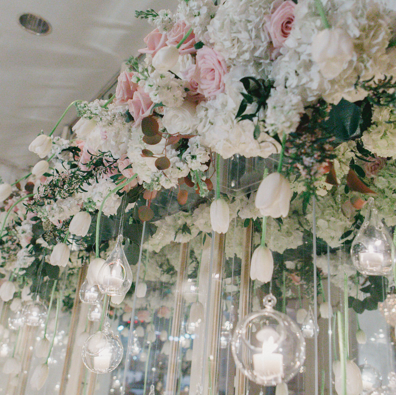 Gorgeous hanging flowers