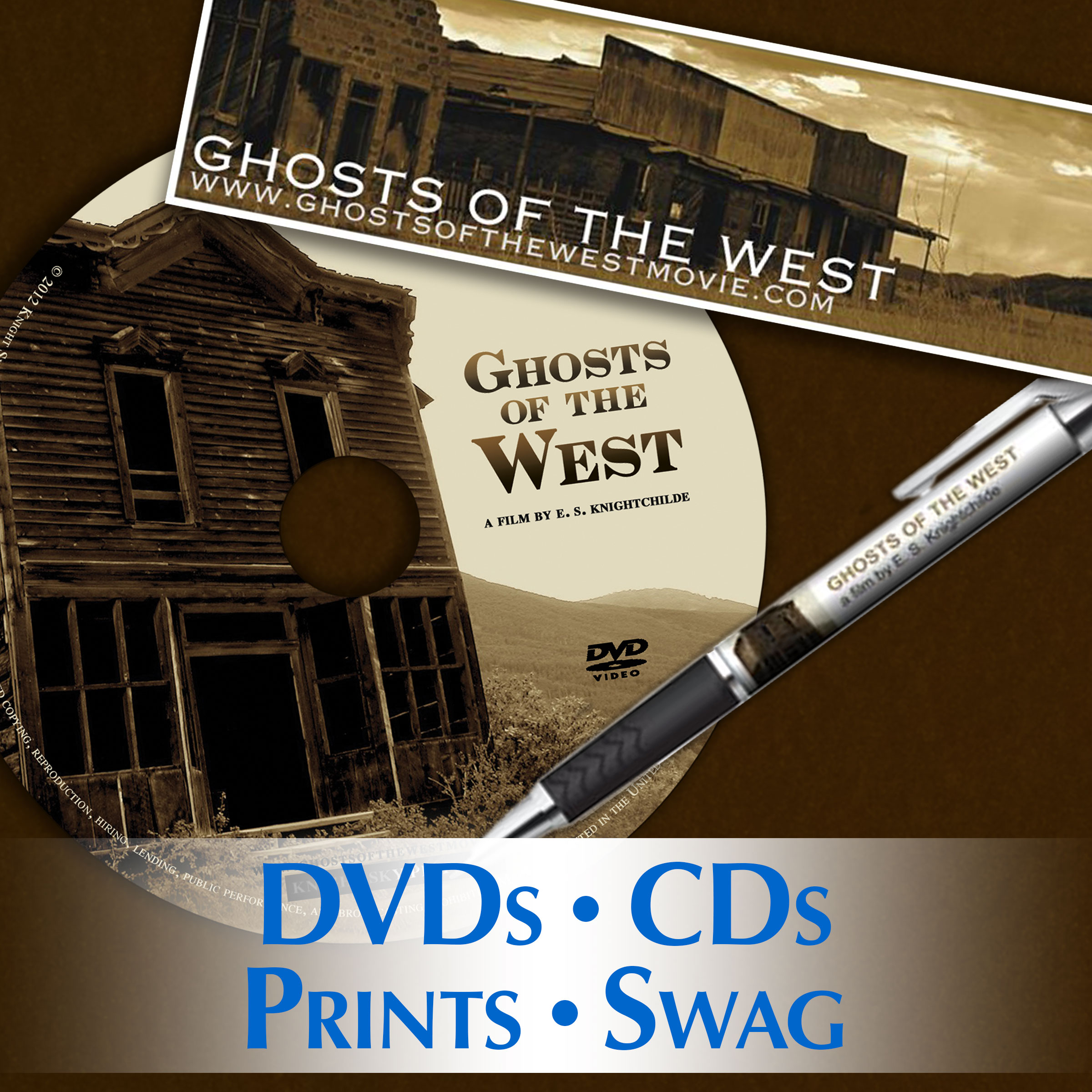 Ghosts of the West merchandise