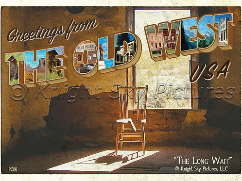 """Greetings from The Old West, USA"" Post Cards (10-pack)"