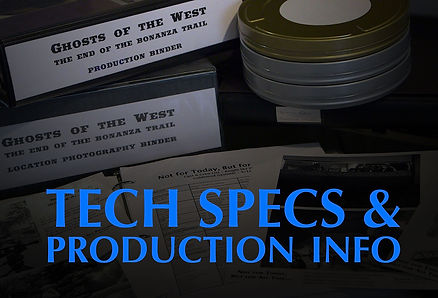 Tech Specs for Ghosts of the West