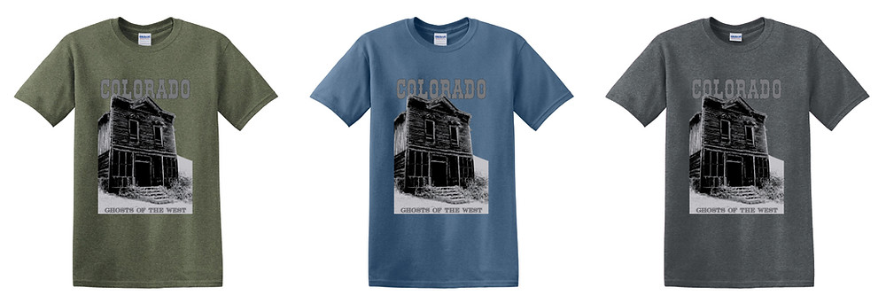 Colorado Ghost Town tees