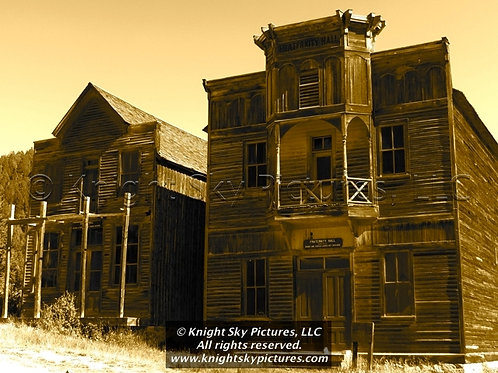 """Shuttered Halls"" Signed Production Still (Ltd. Ed. of 100)"