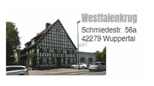 Restaurant Westfalenkrug in Wupperta