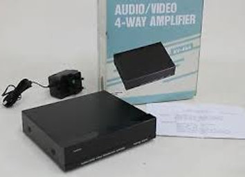 4 Way Analogue Audio / video Amplifier AV-484 Jebsee