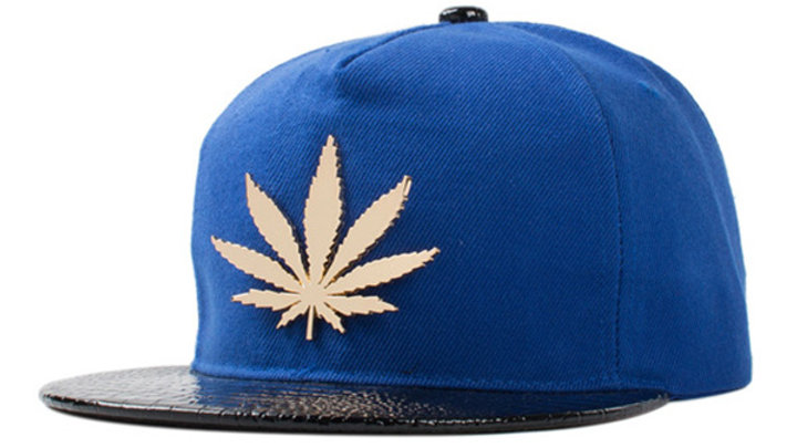 Blue 420 Snapback