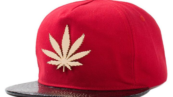 Red 420 Snapback
