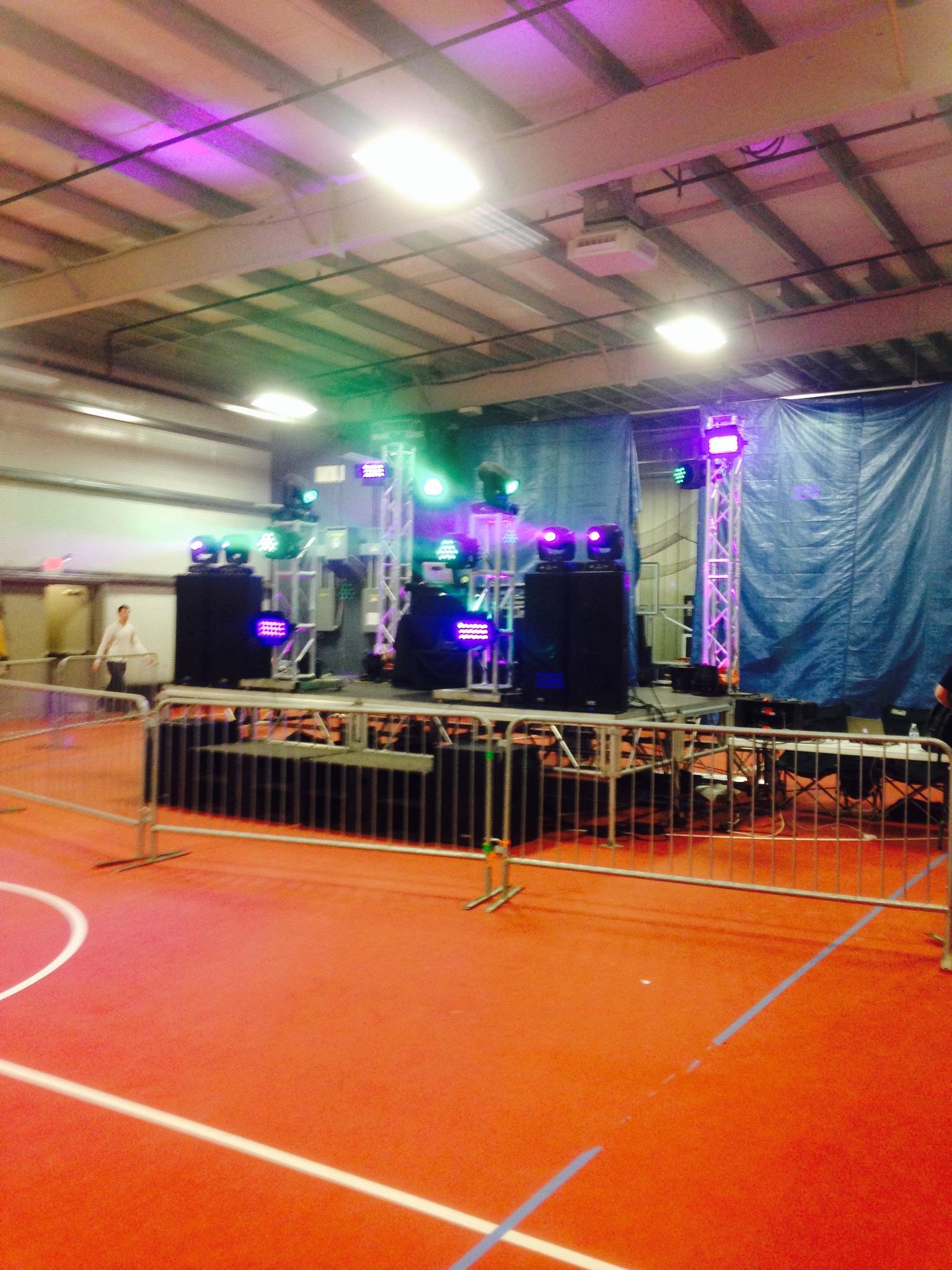 Glow Party School Dance DJ