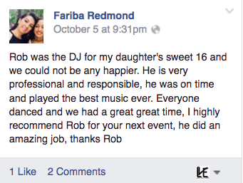 Sweet 16 DJ Reviews Lehigh Valley