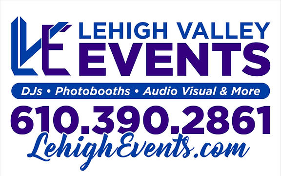 Lehigh Valley Events DJ's PhotoBooths Audio Visual