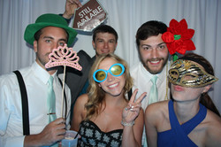 Classy props for the crew Photobooth