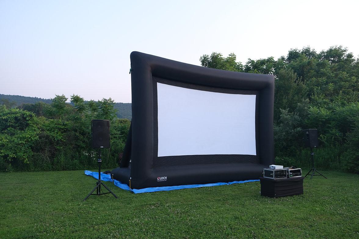 Movie Screen Rental in Pennsylvania, Allentown Bethlehem Easton