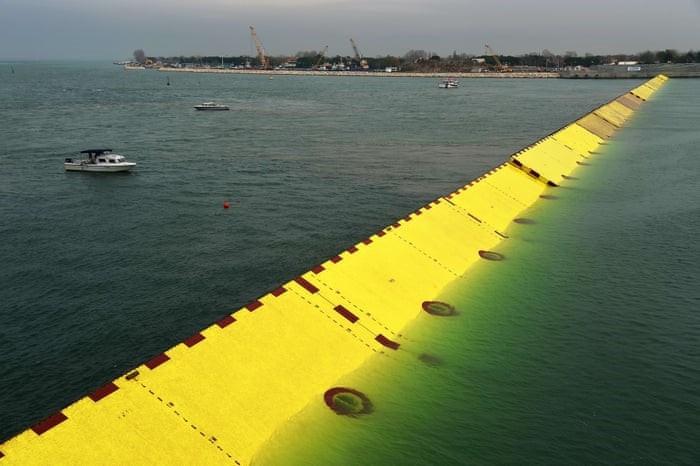 Como deve funcionar o projeto MOSE em Veneza