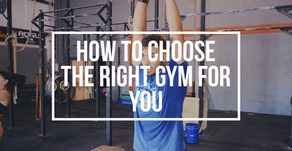How to Choose the Right CrossFit Gym for You
