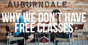 Why a No Sweat Intro and Not a Free Trial Class
